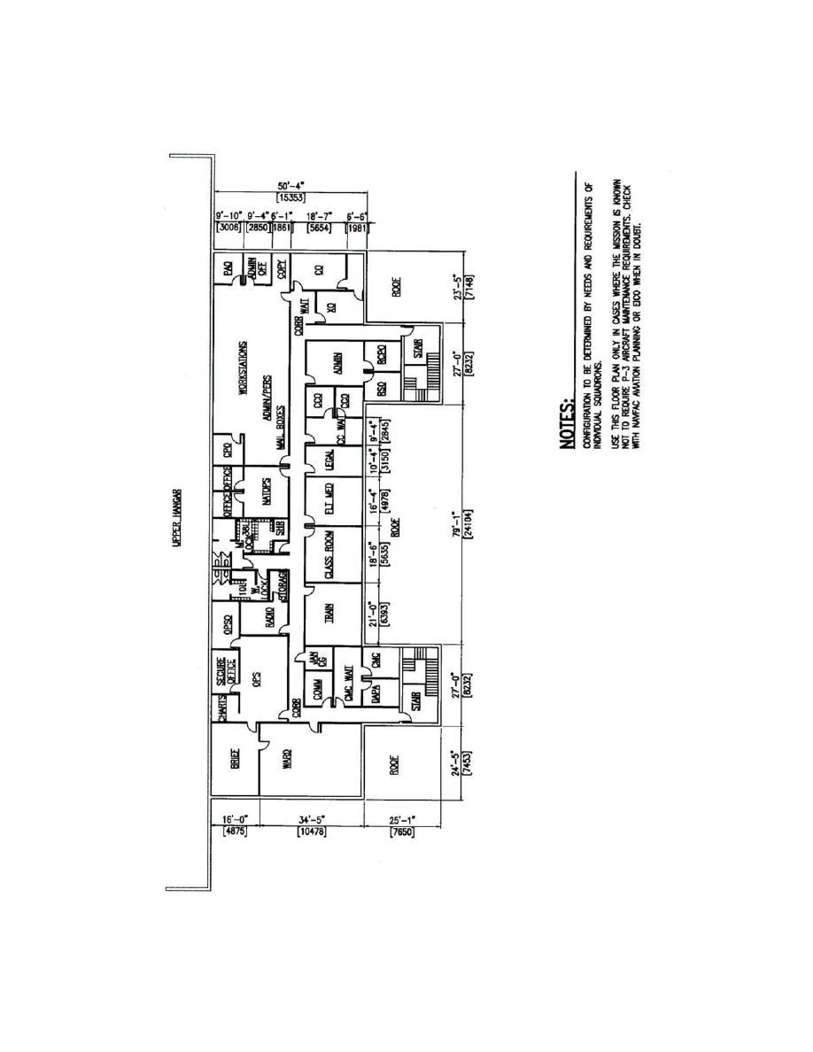 Figure 3 13 Maintenance Hangar Type Ii O2 Floor Plan