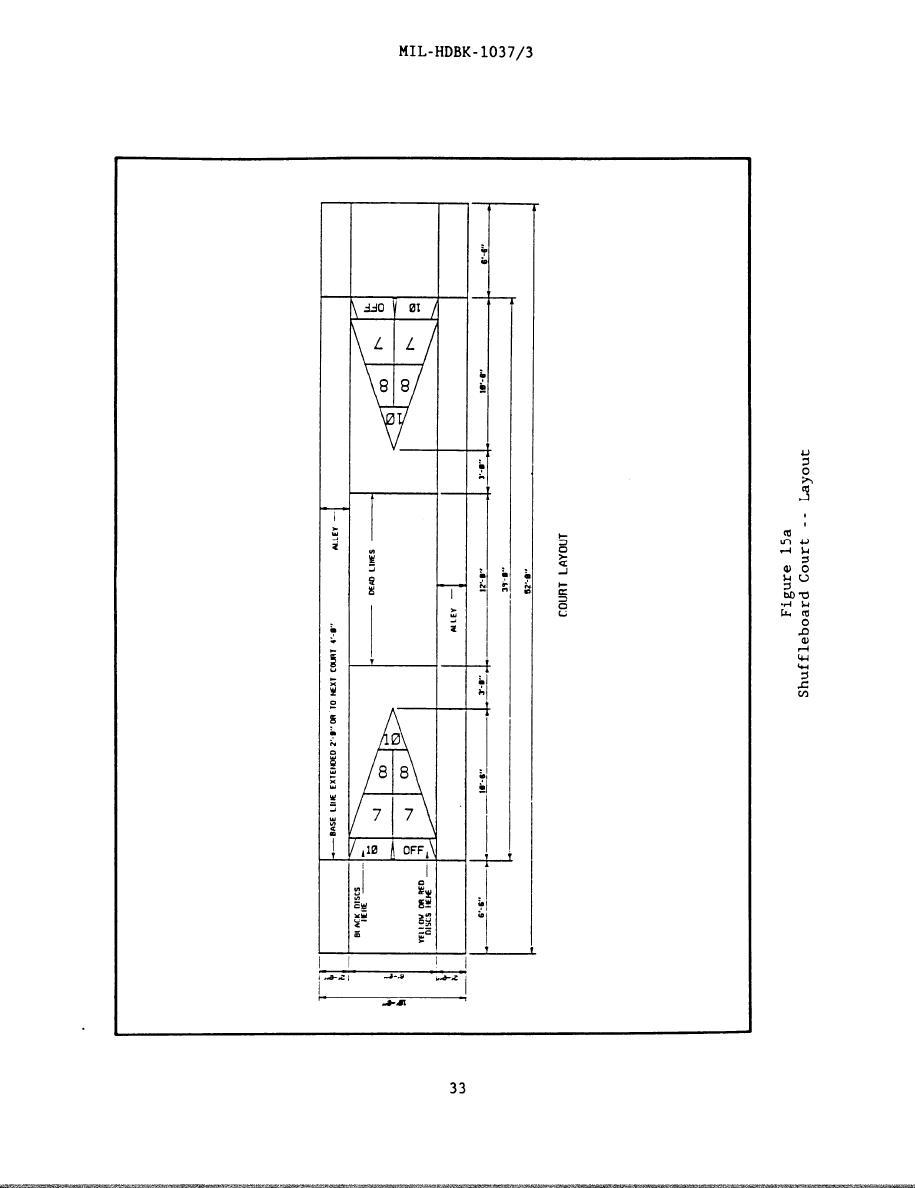figure 15a shuffleboard court layout
